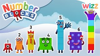 Numberblocks - Learn to Count | Number Fun | Wizz | Cartoons for Kids