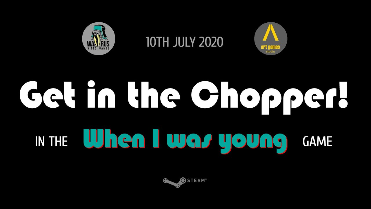 "Get in the Chopper in the ""When I was young"" Game! Official release trailer"