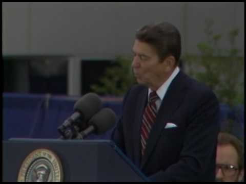 President Reagan's Remarks at the Great Valley Corporate Center on May 31, 1985