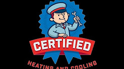 Certified Heating and Cooling Inc Fort Myers FL  Installation of Mitsubishi Mini Split