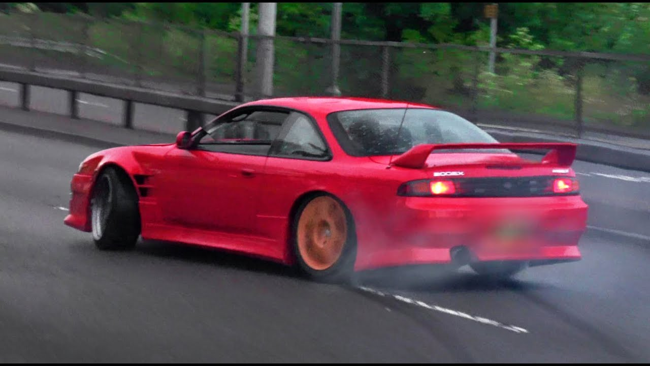 Tuner Cars Leaving a Car Show - June 2019
