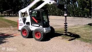 Video still for Auger - Earth Auger Video  | Bobcat Loader Attachments