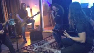 Angra - Miami Studio Rehearsal W/ Fabio Lione