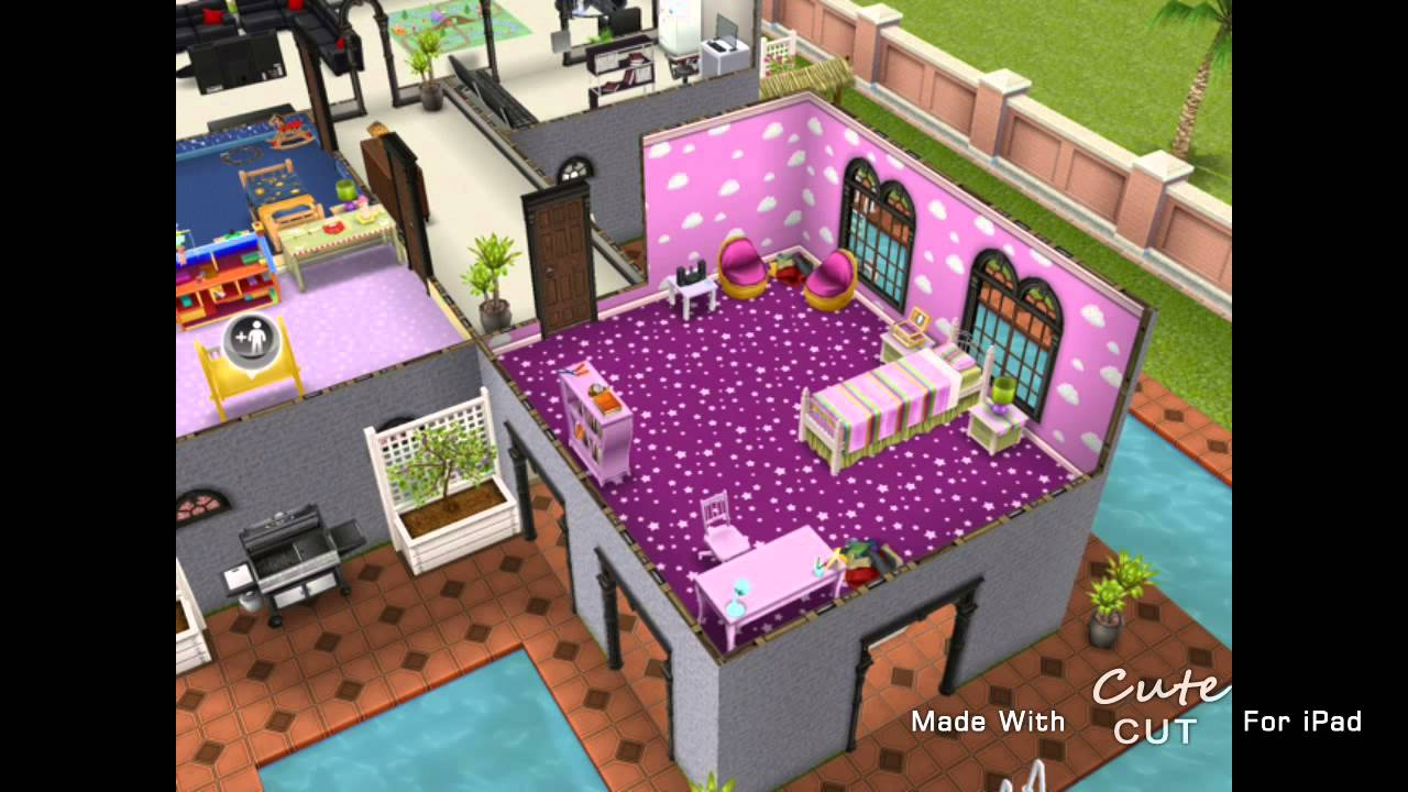 The Sims Freeplay Two Storey Mansion Second Floor