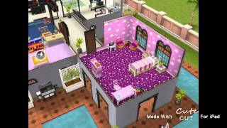 sims freeplay mansion floor second storey