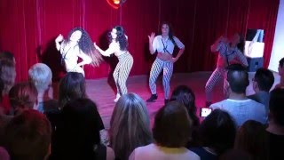 Fusion Ladies at Stockholm Salsa Dance