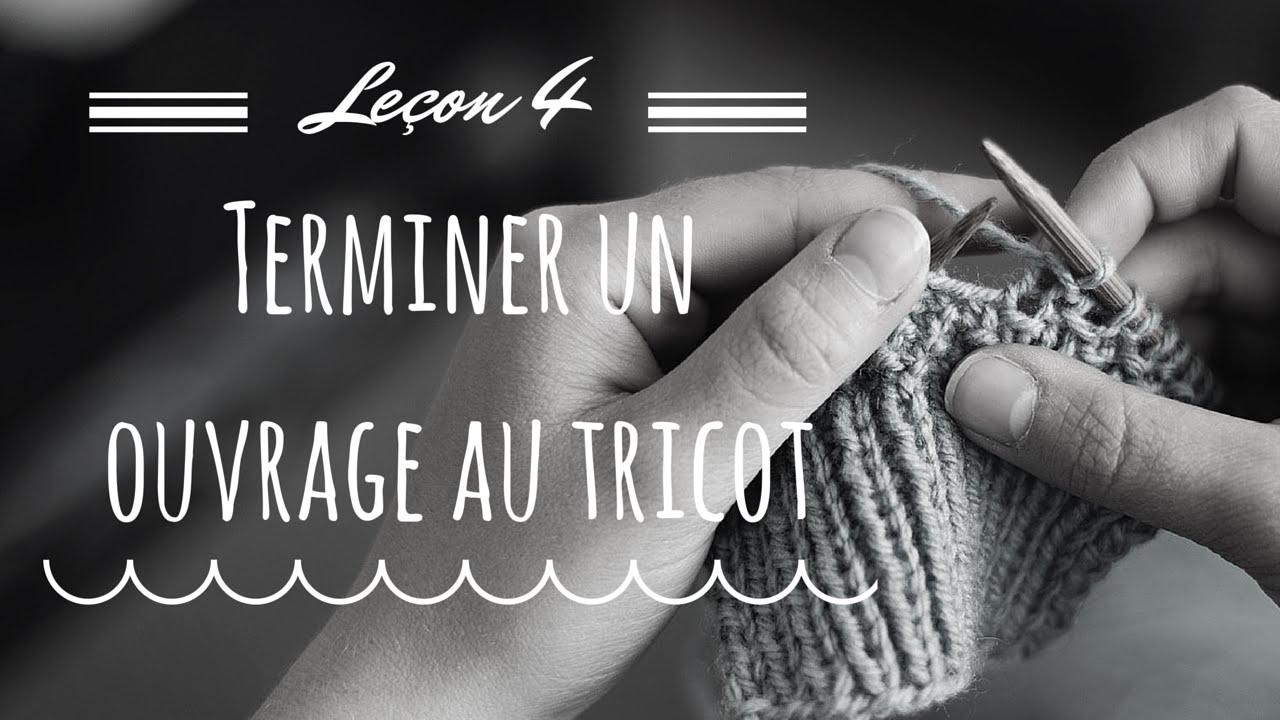 finir un tricot