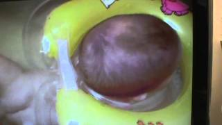 """ Flipper "" baby swim-BATH ring @ kIND+ Jugned expo 2014"
