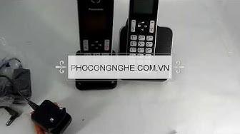 Giới thiệu bộ điện thoại Panasonic KX-TGD312