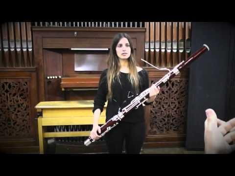 Fagot. Conservatorio Profesional de Música Cristóbal de Morales, Sevilla