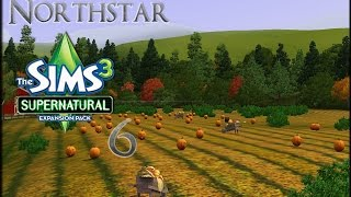 [ Sims 3 Supernatural ] Full Moon Flight From Zombies - Part 6