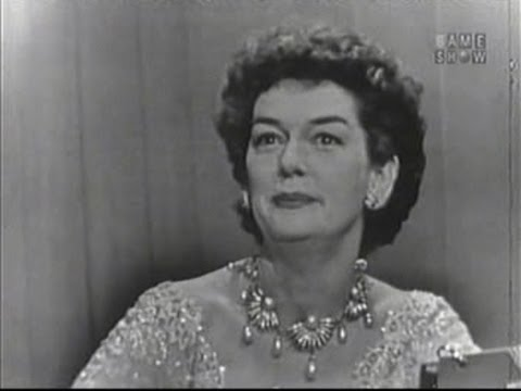 What's My Line?  Rosalind Russell Jan 4, 1953