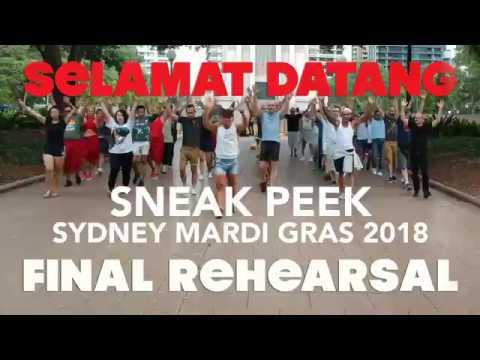 Sydney Mardi Gras 2018 finale Rehersal