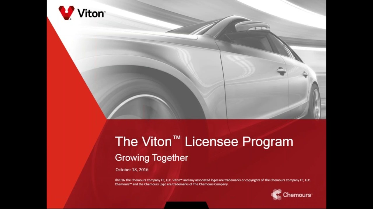 Genuine Viton™ Licensee Progam - Insist on the Best