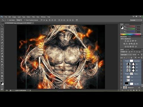 Fury Photoshop Action Tutorial | Photoshop CS6