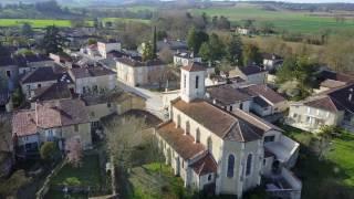 #2 Beaucaire sur Baïse (Gers) : Rivière et Village