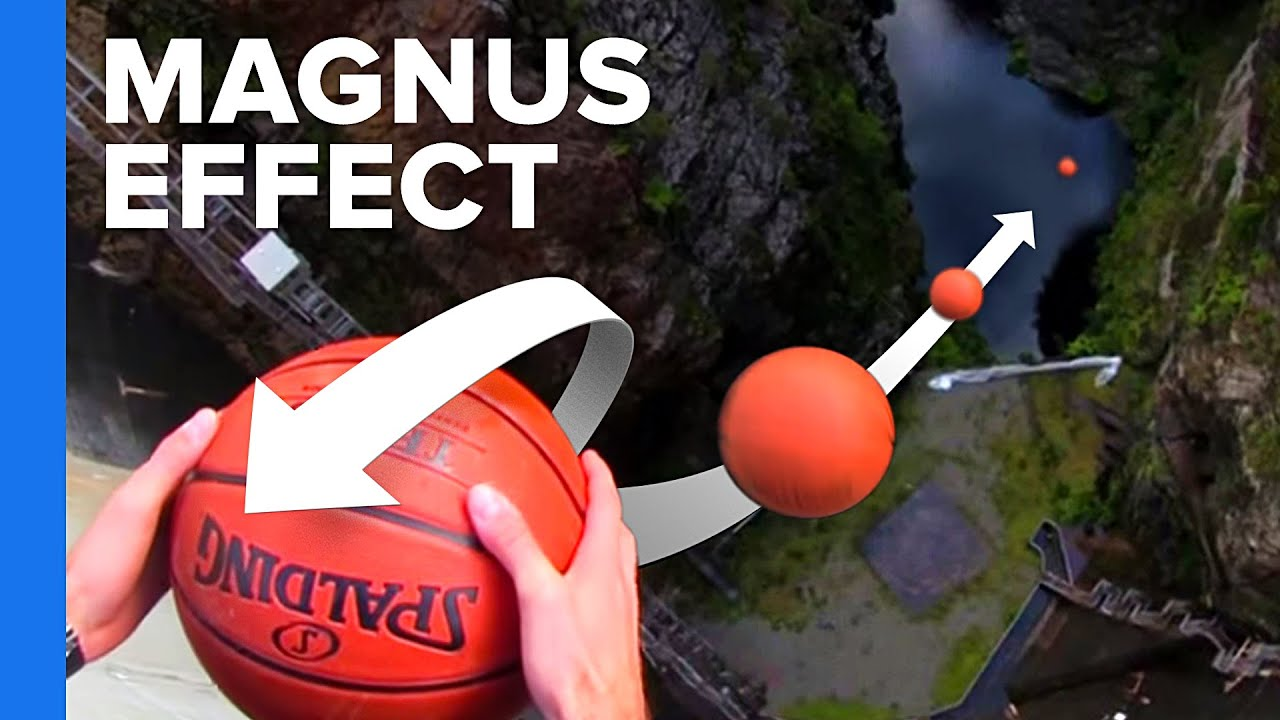 Surprising Applications of the Magnus Effect | FunnyDog.TV