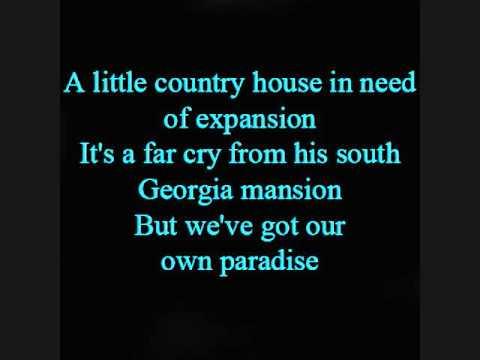 The moon over Georgia W/ Lyrics