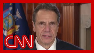 "New york governor andrew cuomo responds to president donald trump's comments that the has ""total"" authority amid coronavirus pandemic.#cnn #news"