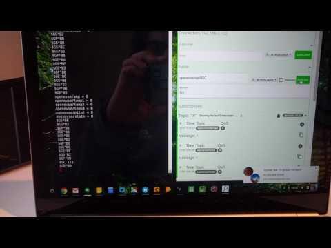 OpenEVSE RAPI over WiFi MQTT demo