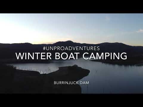 Burrinjuck Dam Winter Boat Camping & Cod Fishing