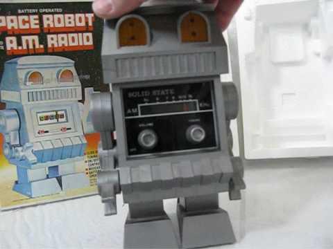 Space Robot A.M. Radio Vanity Fair
