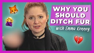 'The Conners' Star Emma Kenney Wants Fans to Ditch Fur