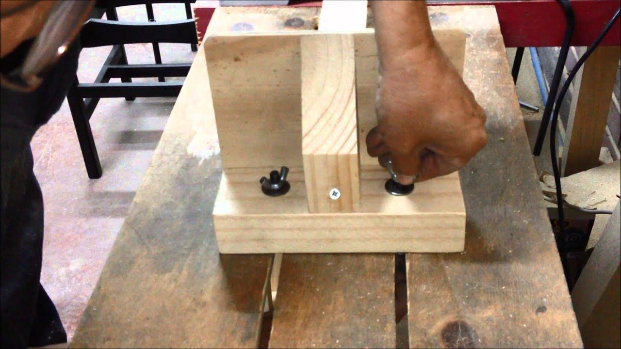 Extensi n para ingletadora con tope de medida para corte - Como hacer cocinita de madera ...