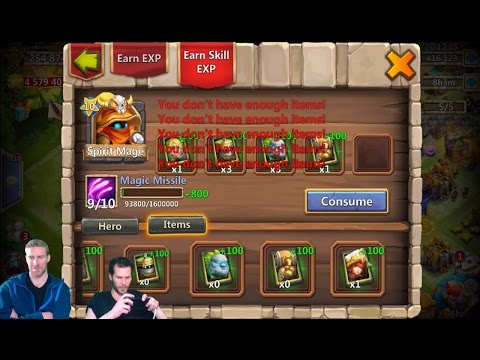 JT's Main Rolling 50,000 Gems For Anubis With Infinitiman Castle Clash