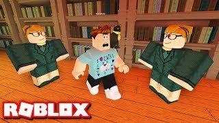 ESCAPE THE LIBRARY OBBY!! | Roblox Adventures
