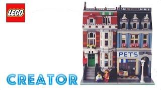 Lego Creator Pet Shop Review! Lego 10218