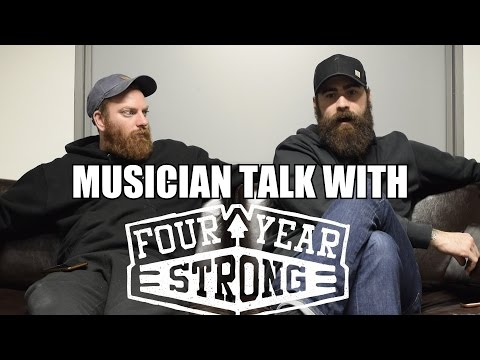 Musician Talk with Four Year Strong