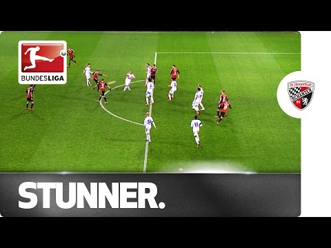 The Power of Bauer - Wonder Goal from Youngster's First Bundesliga Shot
