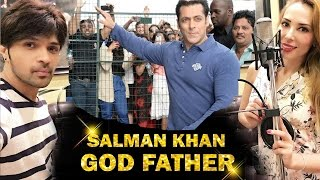 Salman Khan GOD Father of Bollywood, Salman's GIRLFRIEND Iulia Makes Singing DEBUT