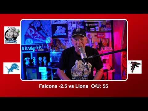 Atlanta Falcons vs Detroit Lions NFL Pick and Prediction Sunday 10/25/20 Week 7 NFL