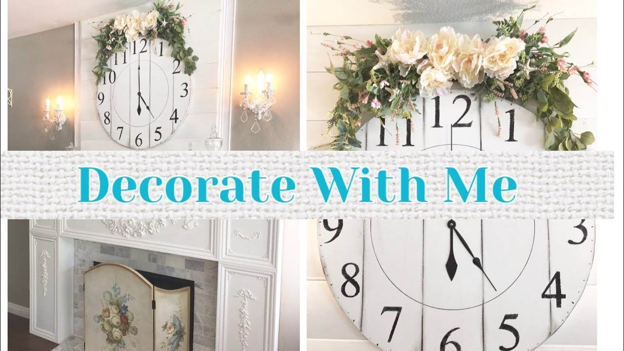 decorating my fireplace mantel diy wreath beach coastal decor rh youtube com