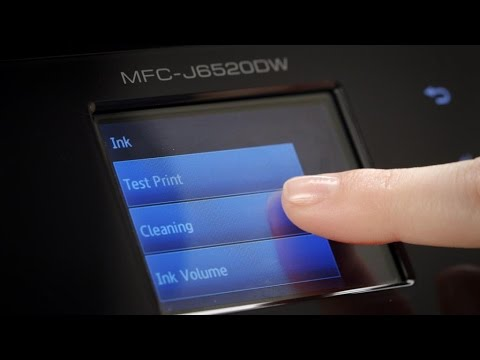 How to clean your Brother Inkjet printer