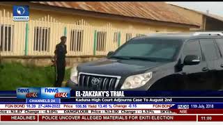 El Zakzaky, Wife In Court Amid Heavy Security
