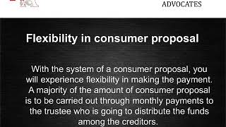Differences Between Consumer Proposal And Bankruptcy