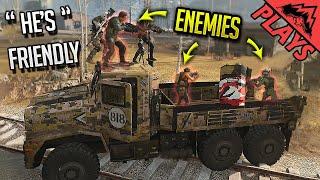 We Met a FRIENDLY Team in Warzone...