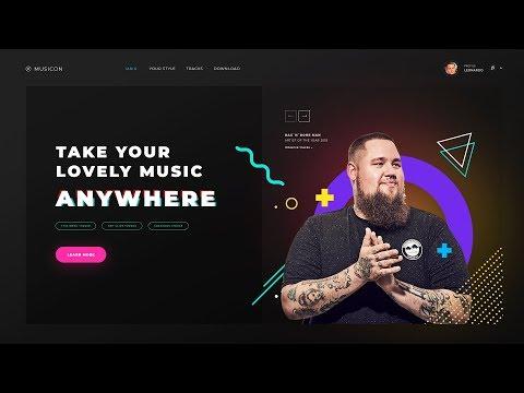 Создаем профессиональный дизайн сайта с нуля Photoshop