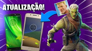 FORTNITE ANDROID MOTO G5/G6/J7-NEW VERSION DOWNLOAD IT'S HARD! 💥