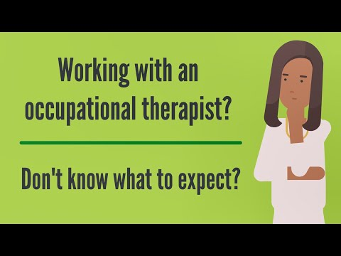 What to expect from your occupational therapist