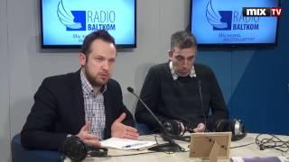 "Мартиньш Тронс и Раймондс Яковицкис в программе ""Утро на Балткоме"" #MIXTV"