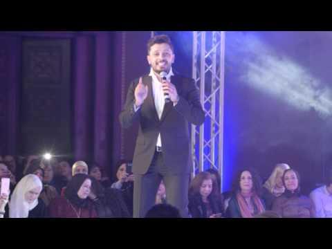 Hatim Ammor - Hasdouna Live au Fashion Luxury