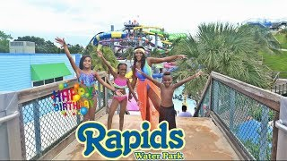 We Went To A Huge Water Park With Really Big Water Slides