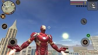 Vegas Crime Simulator | Fan Art | Iron Man Android Gameplay HD (naxeex)