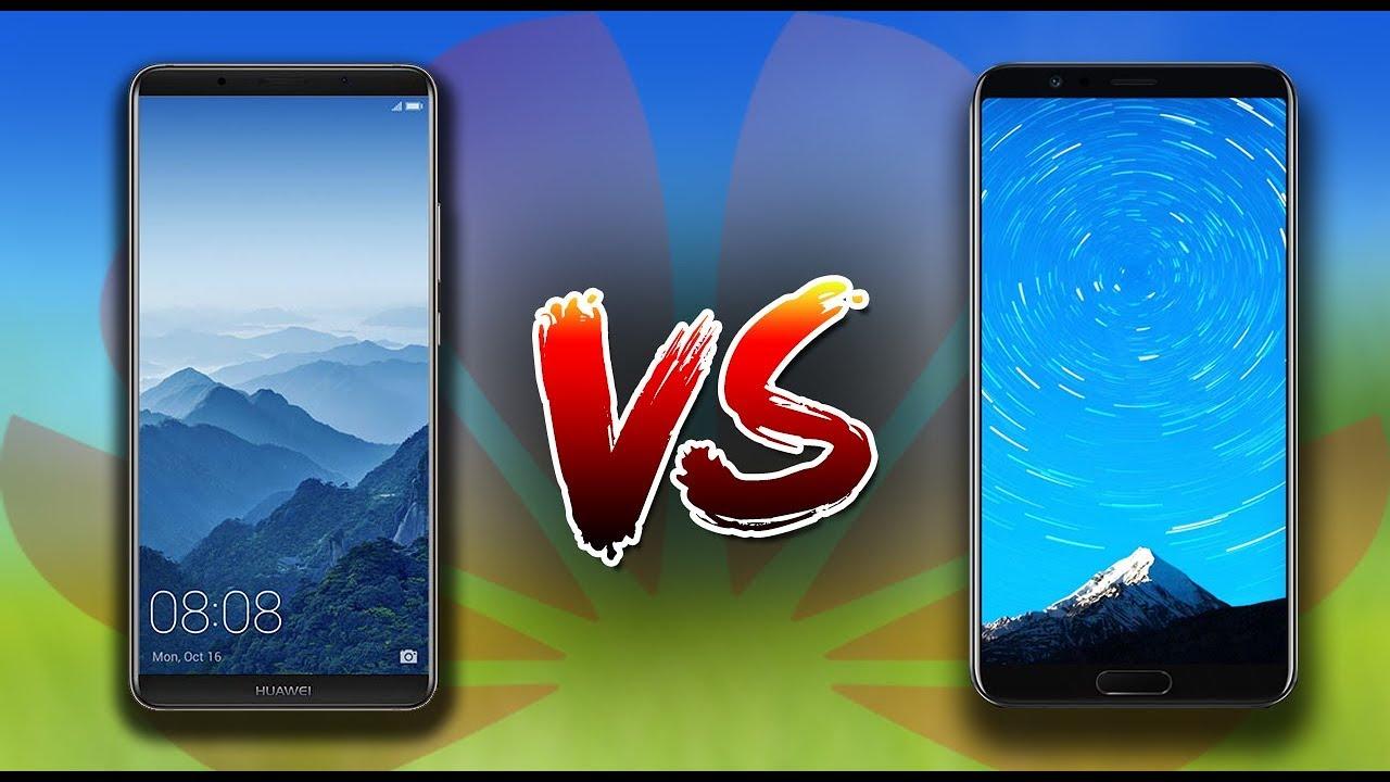 Huawei honor v10 vs Huawei mate 10 pro Comparison