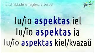 ASPEKTI verbo em Esperanto