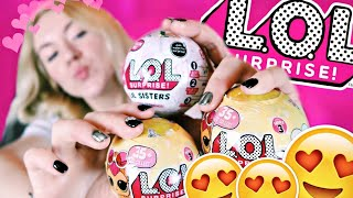 LOL МИНИ ШАРЫ ЛОЛ ПИТОМЦЫ И ЛОЛ СЕСТРИЧКИ | РАСПАКОВКА ЛОЛ КУКЛЫ LOL Dolls Шарики LOL Dolls Surprise
